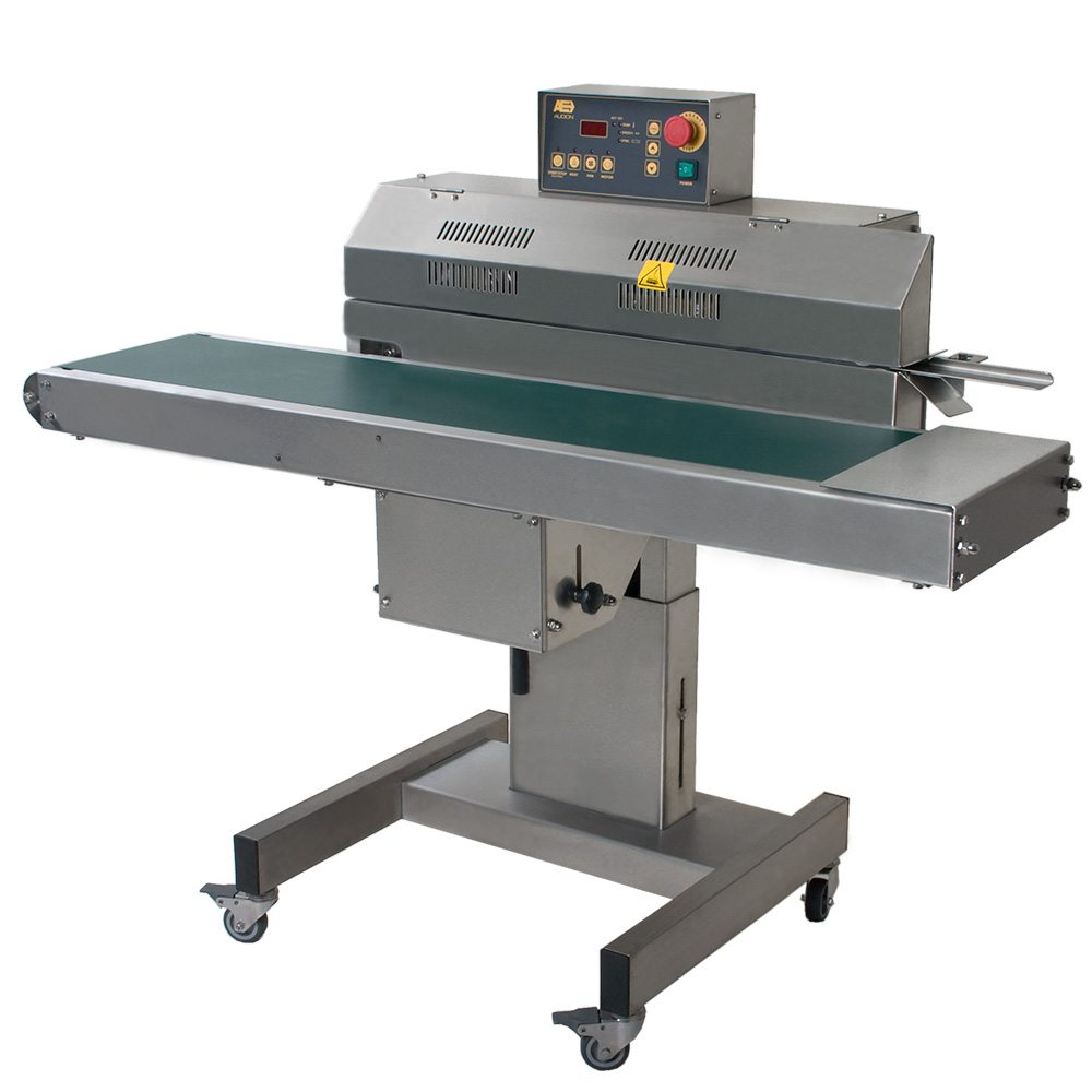 Stainless steel horizontal bandsealer