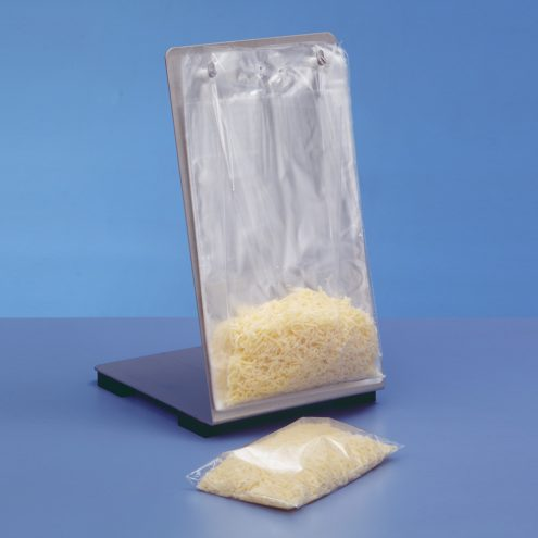 Bag for grated cheese