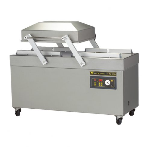 vacuum packaging machine with double chamber