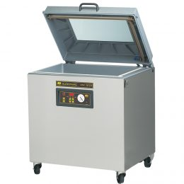 Validatable aluminium vacuum packaging machine