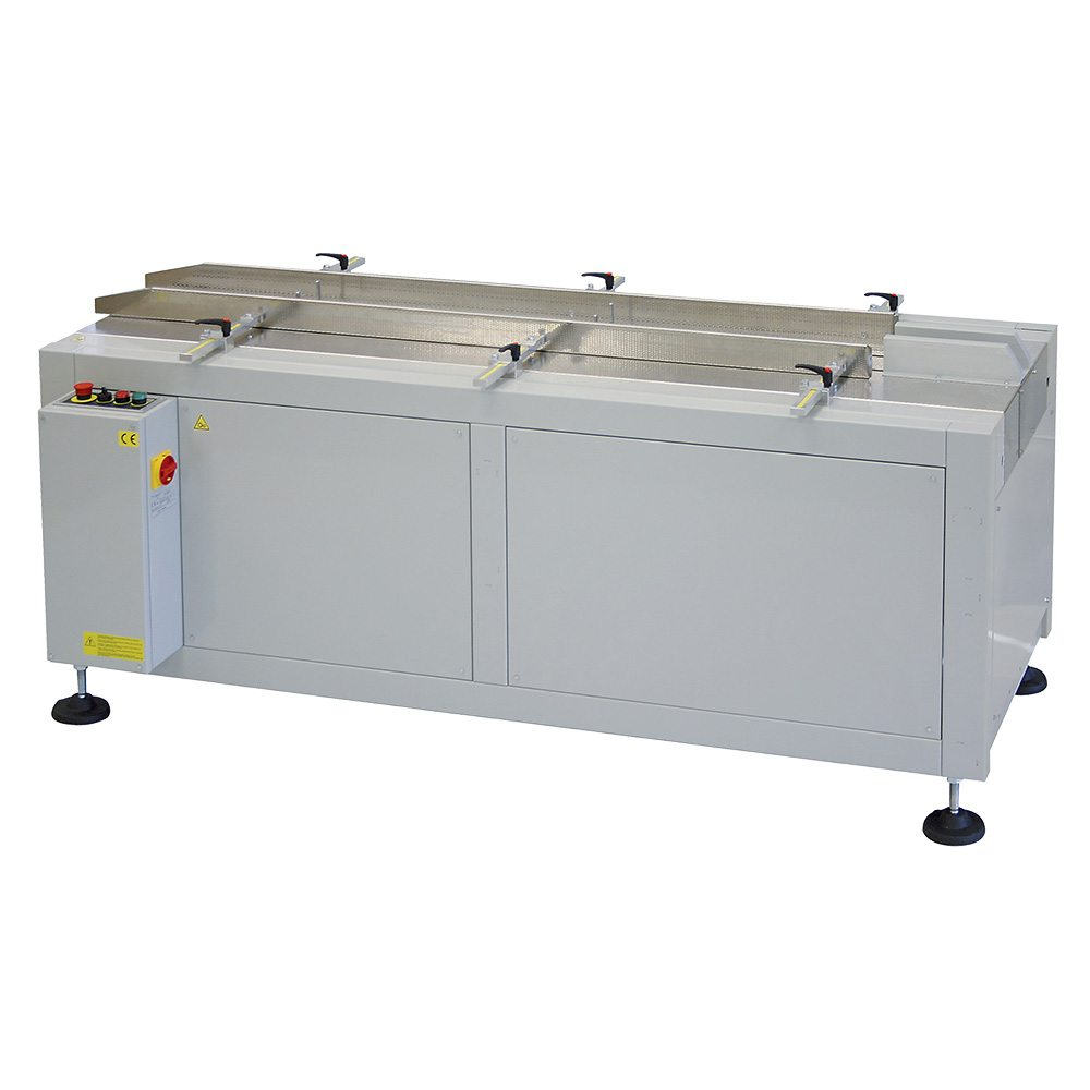 conveyor for shrink machines