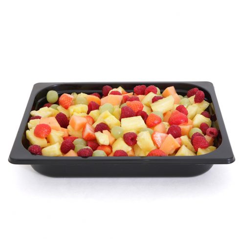tray packaging fruit
