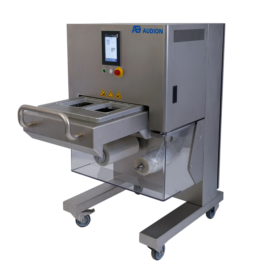 semi automatic tray sealer