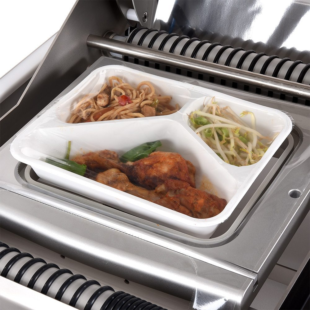 sealing meal tray