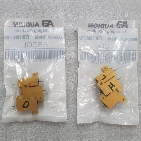 packaging resistors