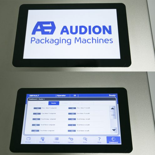 audion control panel