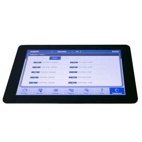 audion touch panel