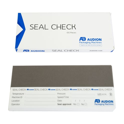 seal check paper