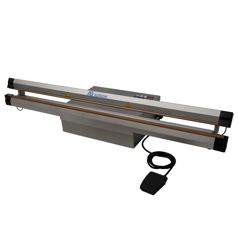 large stainless steel sealer