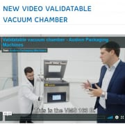 video validatable vacuum chamber